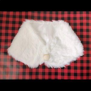 Party Wedding Faux Fur Scarf Wrap, NEW